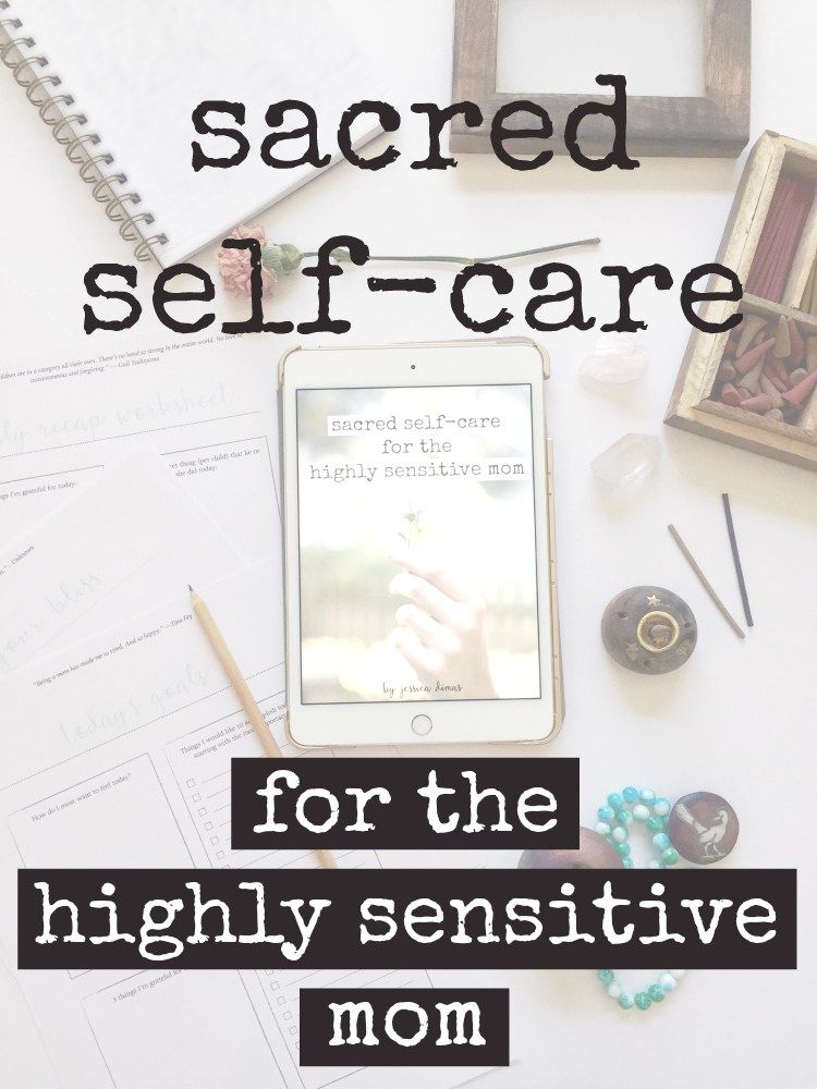 Sacred Self-Care for Moms Guide + Worksheet Bundle