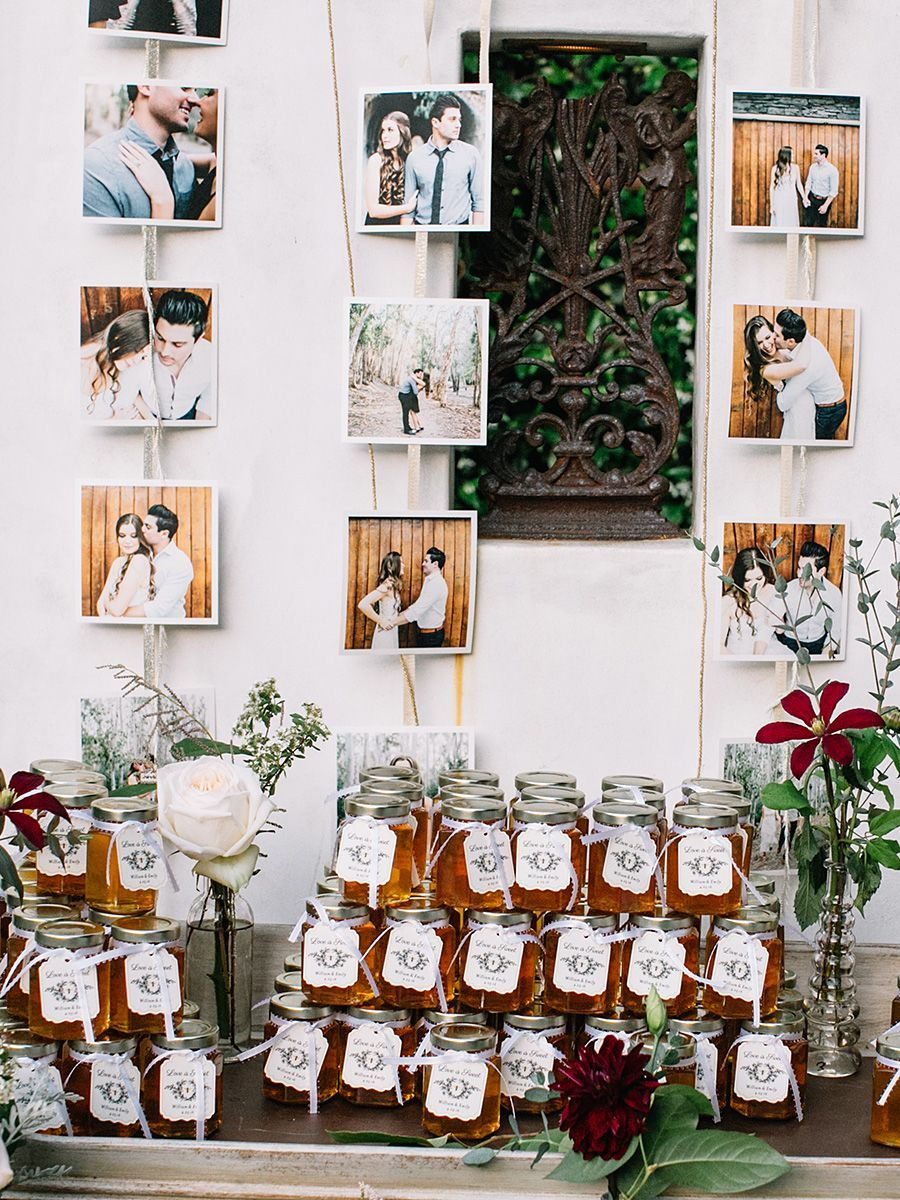 Wedding favor table shot for the wedding reception shot list ...