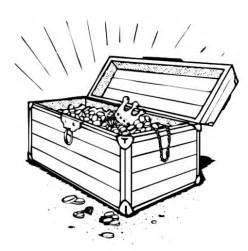 22+ Treasure chest clipart outline info