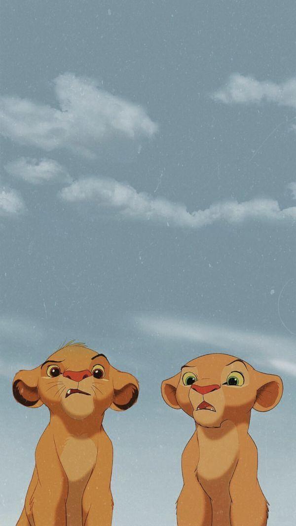 Simba X Nala Wallpaper Iphone Disney Cute Disney Wallpaper Disney Wallpaper