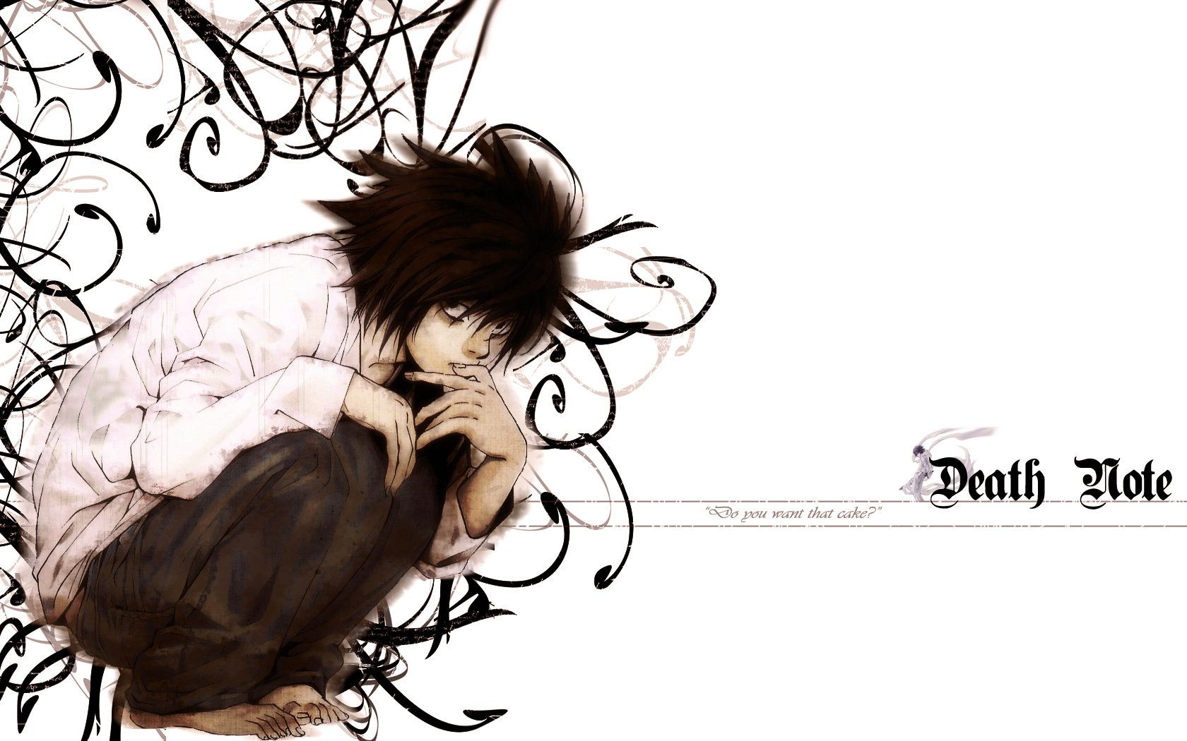Death Note L Wallpaper by ekkkkkknoes on DeviantArt 1024