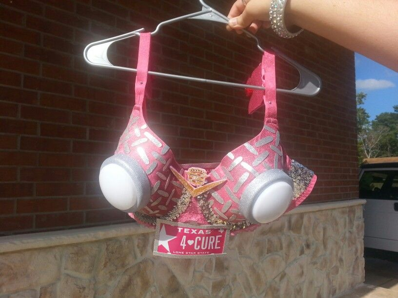 Bras for breast cancer month