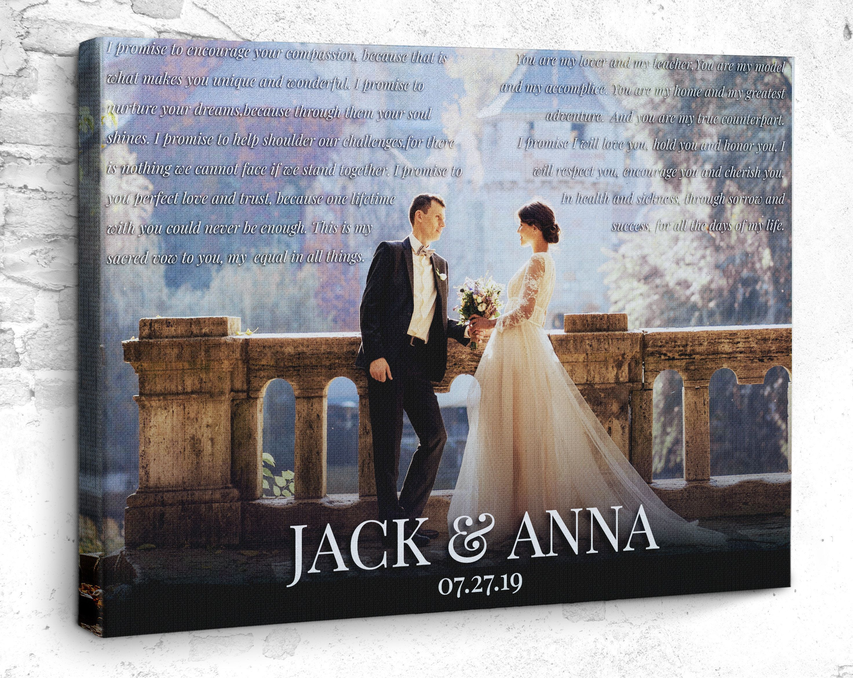 Canvas Prints Photo To Canvas Wedding Gift Wedding Pictures Home Decor Wall Decor Canvas Wall Art Photogr In 2020 Wedding Saving Wedding Pictures Wedding Canvas