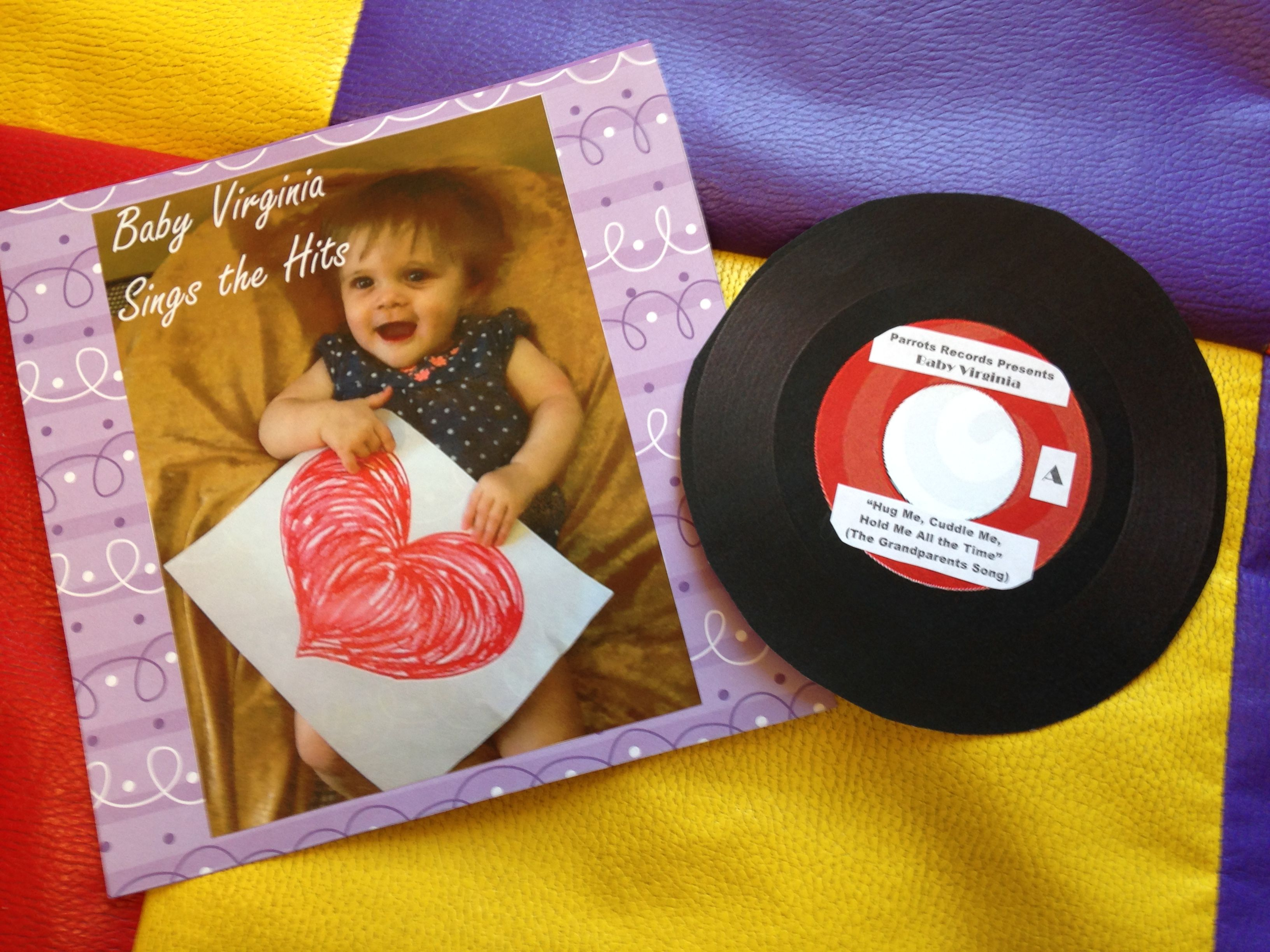 Baby album gift for grandparents day baby album baby