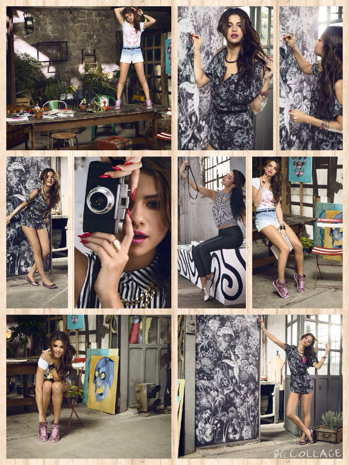 Selena Gomez in Adidas NEO Summer Collection May/June 2014