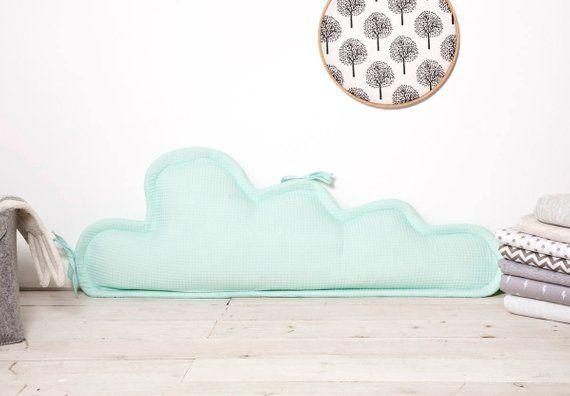 Baby Bed Beschermer.Long Cloud Pillow Throw Pillows For Cradle Crib Bumper Cot