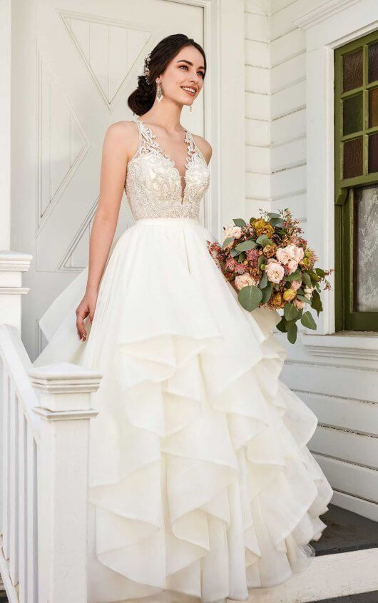 Charli Stevie Sophisticated Princess Wedding Dress