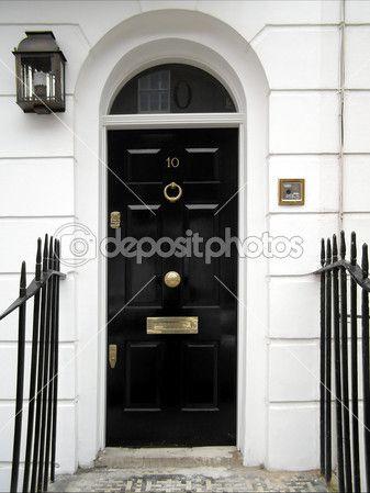 Bekannt Britische Tür — Stockbild #4917508 | Haustür in 2019 | Haustür ES13