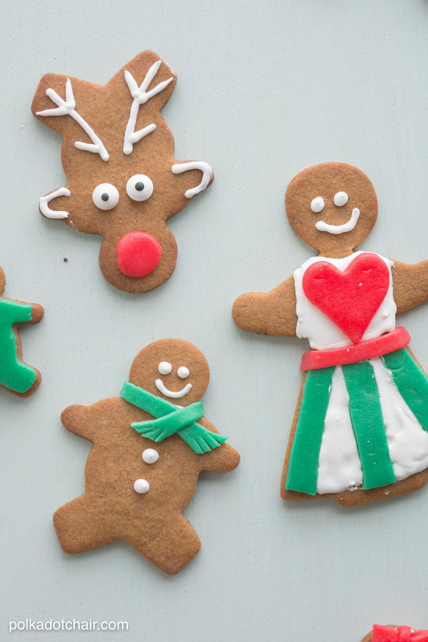 Gingerbread Cookie Decorating Ideas Gingerbread cookies