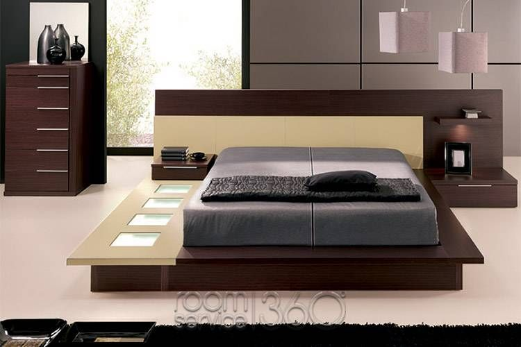 Modern Beds  Selex Blok Walkon Modern Platform Bed #16241 Delectable Bedroom Sets Designs Decorating Design