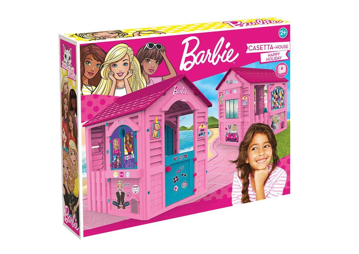 Casita Infantil Barbie Para Exterior Chicos 89609 Barbie Casa De Juguete Cosas De Barbie