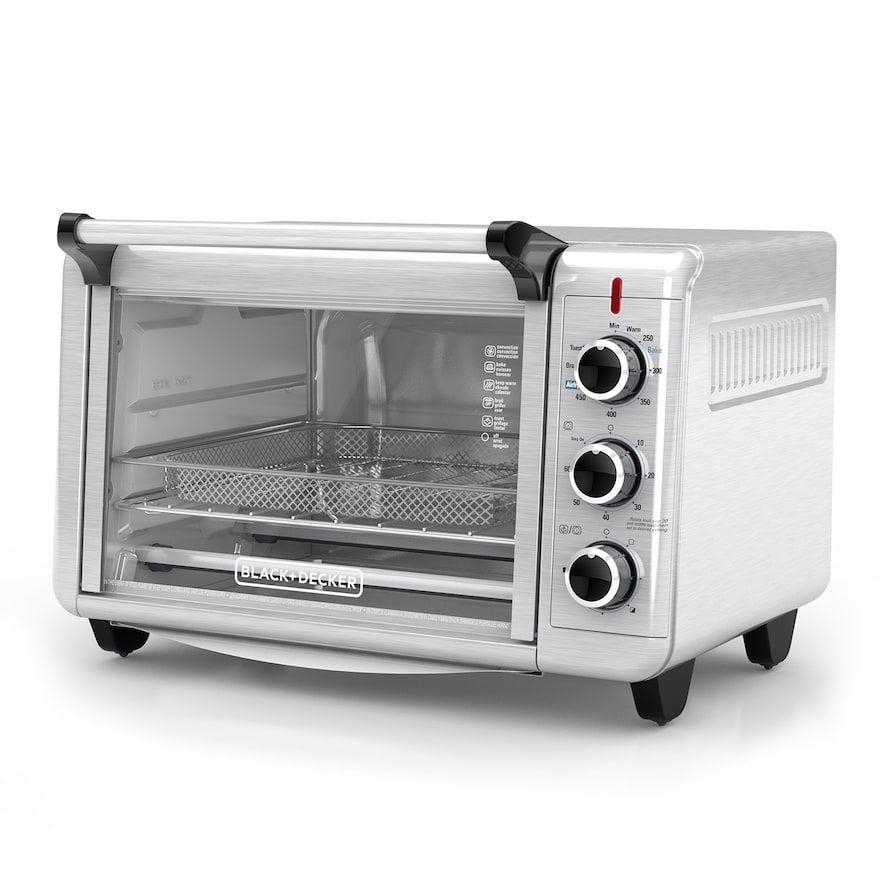 Black & Decker Crisp N' Bake Convection Air Fry Countertop Oven | Countertop oven, Toaster oven ...