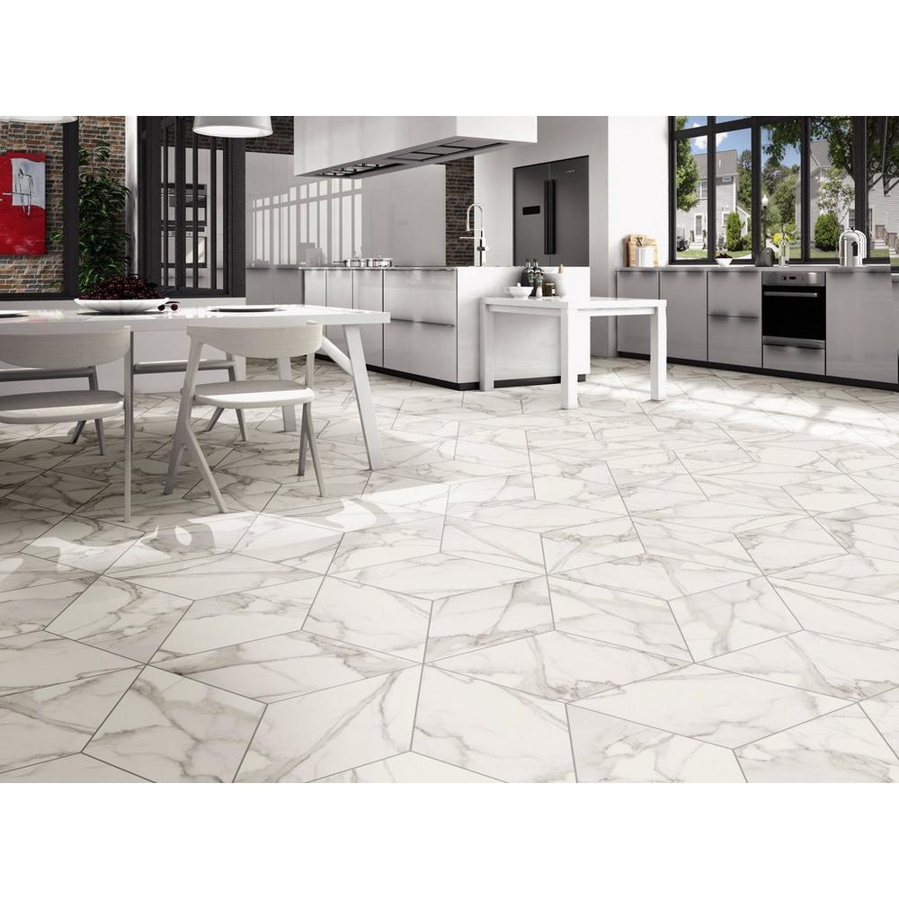Arina Bianco Diamond Matte Porcelain Tile In 2020 Porcelain Tile Stone Look Tile Porcelain Flooring