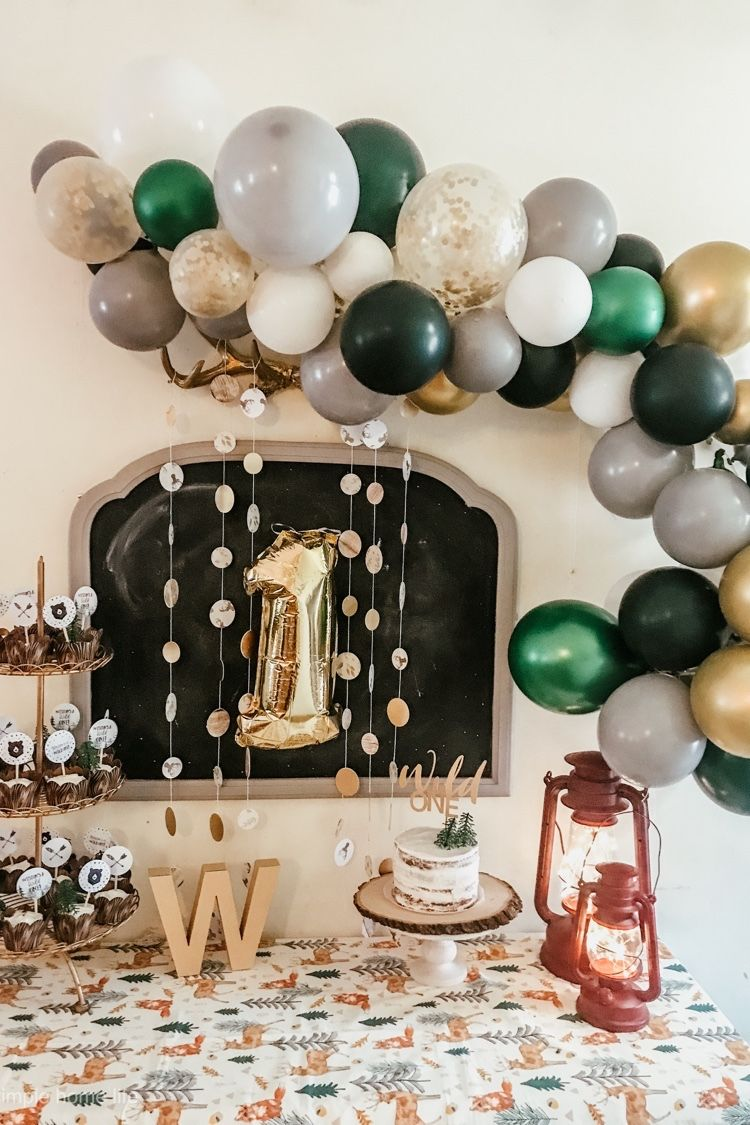 Wild One First Birthday Boys first birthday party ideas