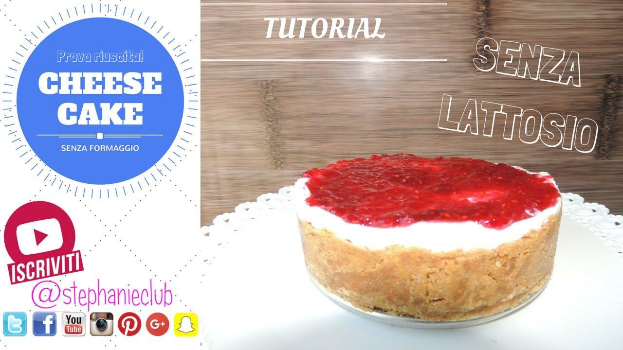 #Tutorial - Una CheeseCake senza formaggio - Torta allo yogurt greco   r...