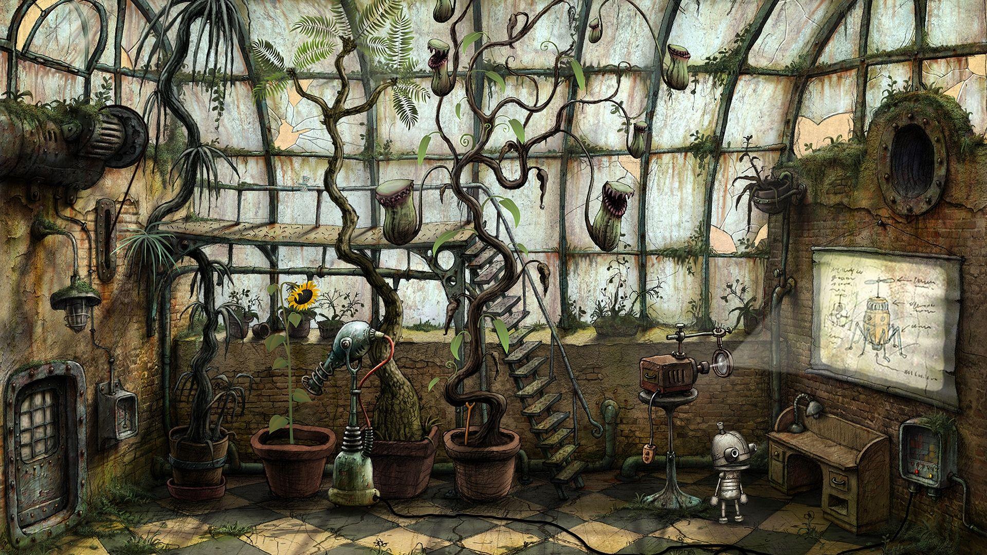Gaming Wallpapers Collection Album On Imgur Amanita Design Art Inspiration Painting Steampunk Art