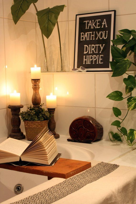 Photo of Take a bath you dirty hippie print (DIGITAL VERSION) – printable poster Boho decor – wall decor – bohemian – hippy – digital download – Wohnen ideen