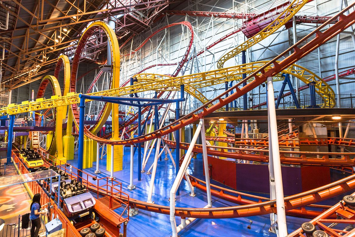 Ride The World's Most Thrilling Roller Coasters-Find Out ...