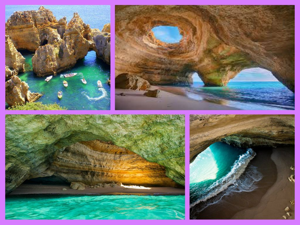 Playa algar de benagil portugal situada en el algarve portugu s se trata de una amplia cueva - Que hay en portugal ...