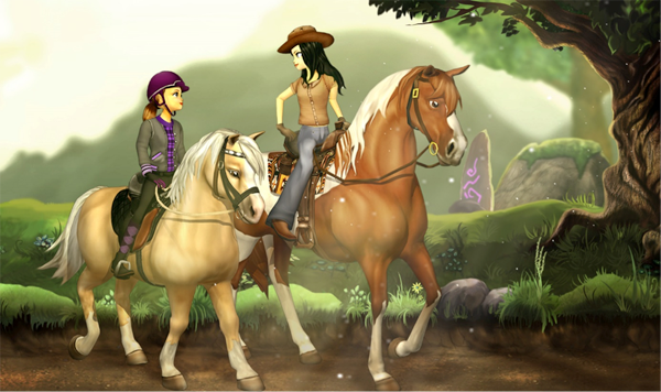 Star Stable is a MMORPG — a Massive Multiplayer Online