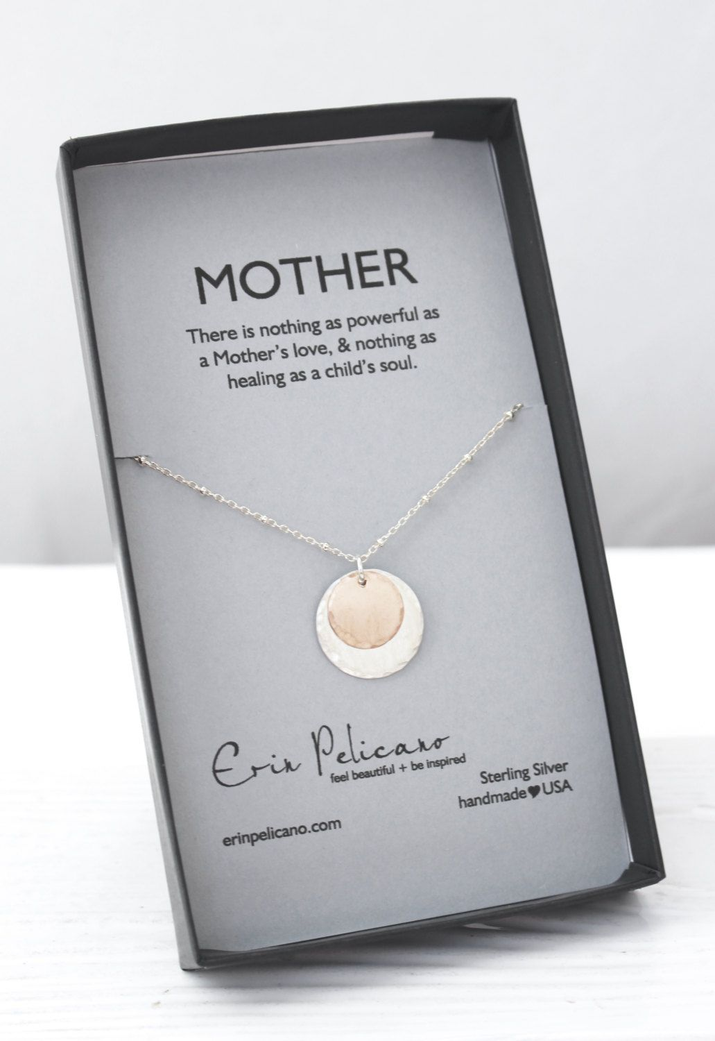 Mother Jewelry Mothers Day Mom Necklace Birthday Gift Of Groom New Baby Bride From Son By Erinpelicano