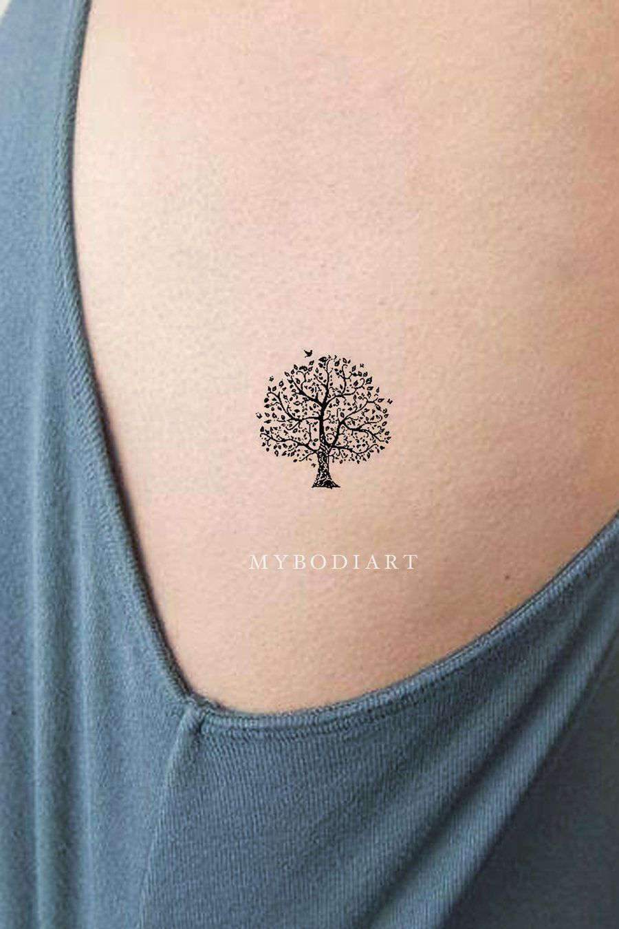 Enchanted Forest Tree Temporary Tattoo Set
