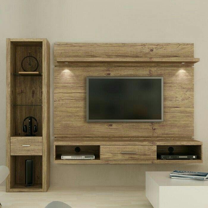 Wall Units, Tv Units, Pallet Tv, Tv Furniture, Furniture Ideas, Furniture  Design, Tv Rack, Tv Panel, Lounge Ideas