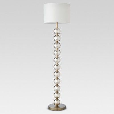 Glass Stacked Ball Floor Lamp Clear Threshold Target Target