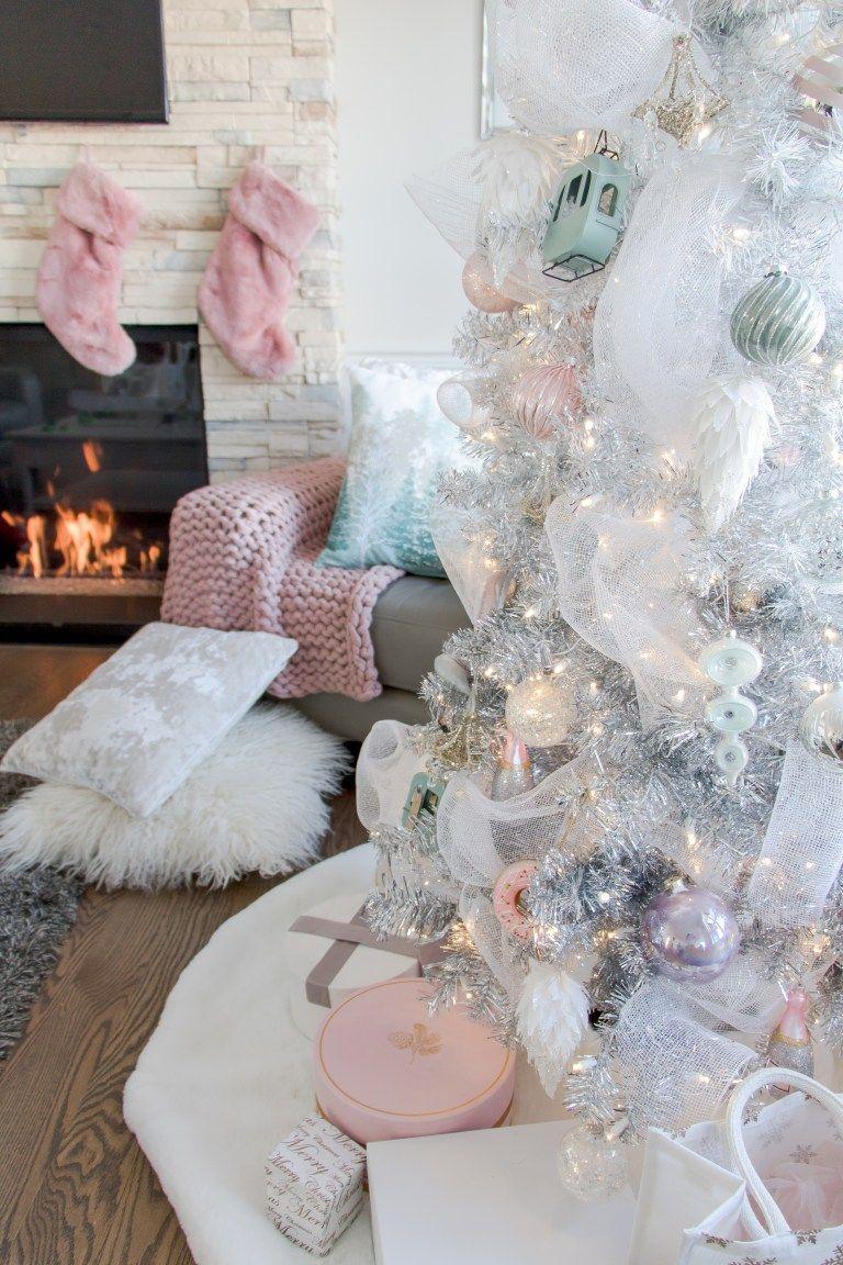 Pretty Pastel Christmas Decor