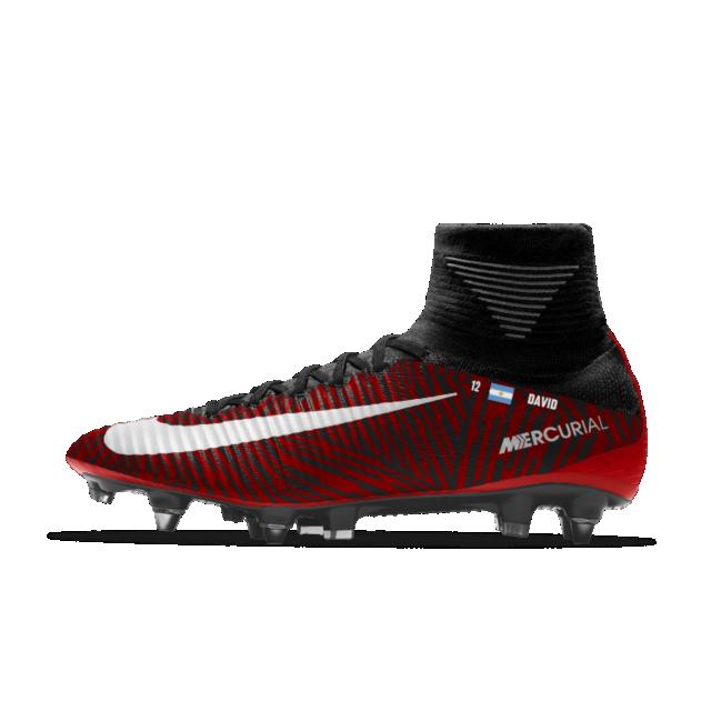 sneakers for cheap 212b2 5c26a Nike Mercurial Superfly V FG iD Botas de fútbol para terreno firme - Hombre