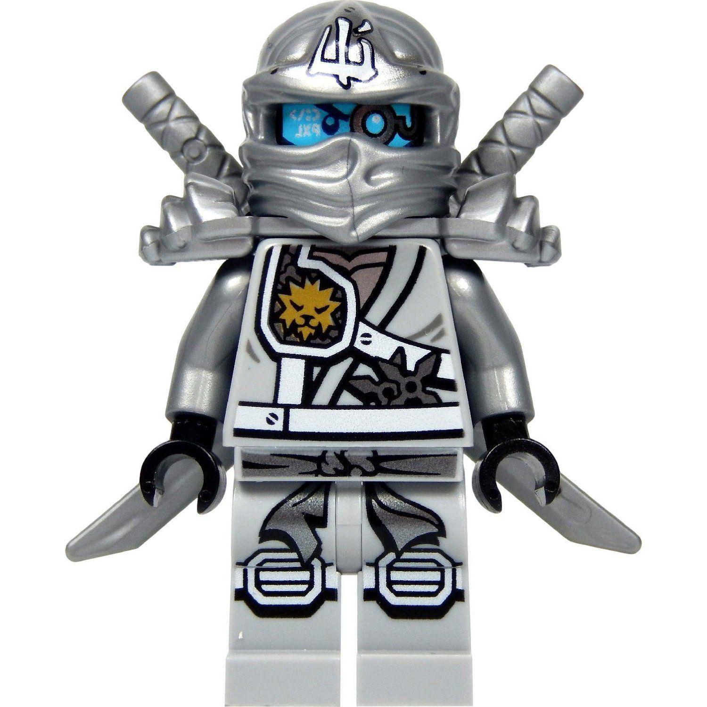 ausmalbilder ninjago zane roboter  my blog