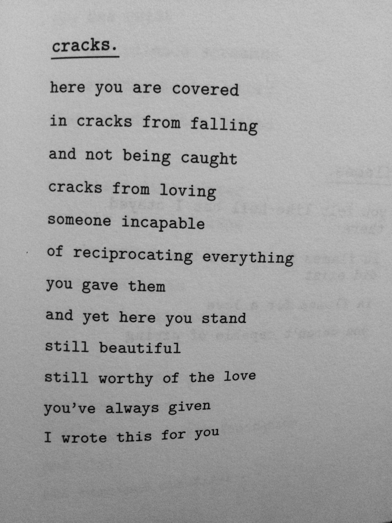 cracks/pg23 whiskey words & a shovel/r.h. sin | Words ...