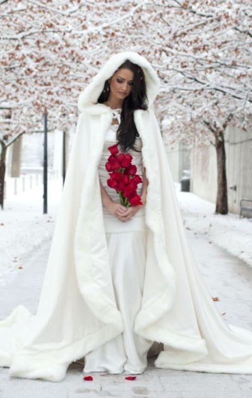 e9e6b1e2c2f04 simple winter wedding dress with coat and hoodie