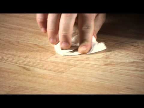 How To Remove Scratches Scrapes On Laminate Flooring Working On
