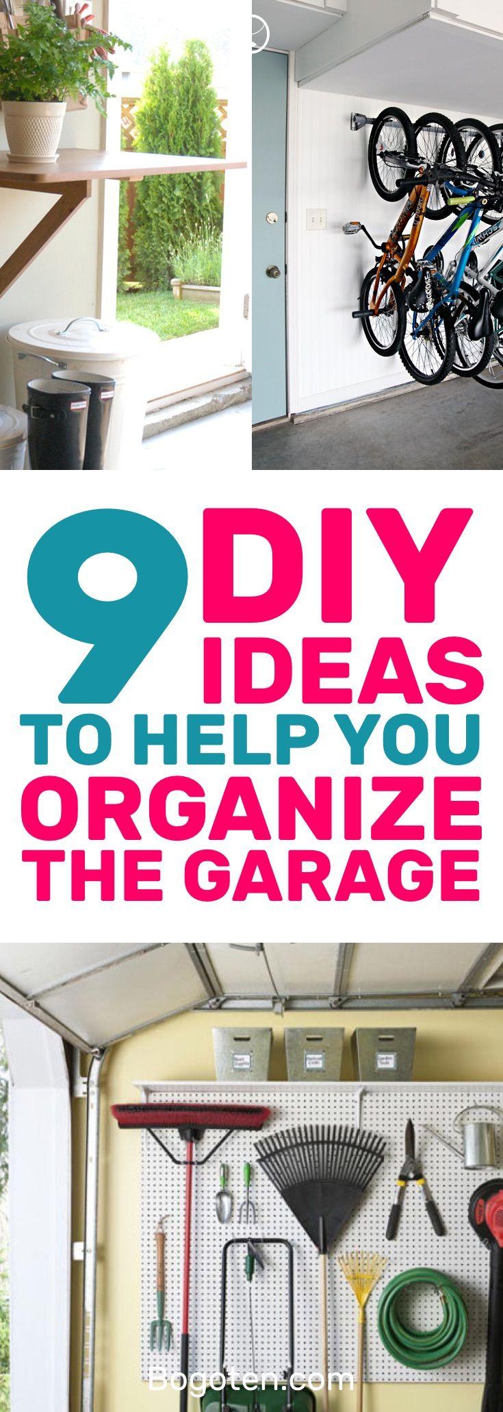 garage organization ideas 9 diy ideas to organize your on best garage organization and storage hacks ideas start for organizing your garage id=92946