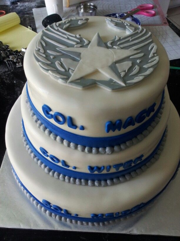 3 Col going away Airforce