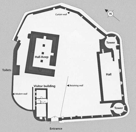 Grundrissplan Athenry