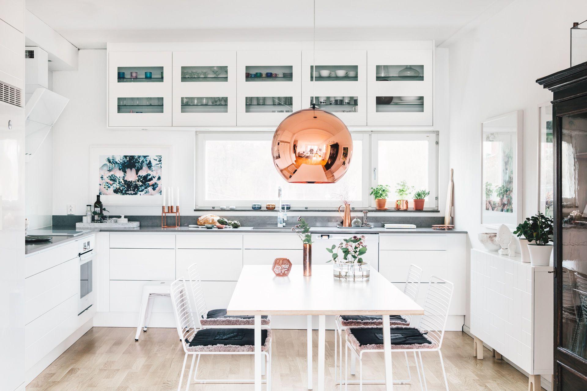 Cocina abierta al salón con vistas | Cocinas abiertas, Salón y Vistas