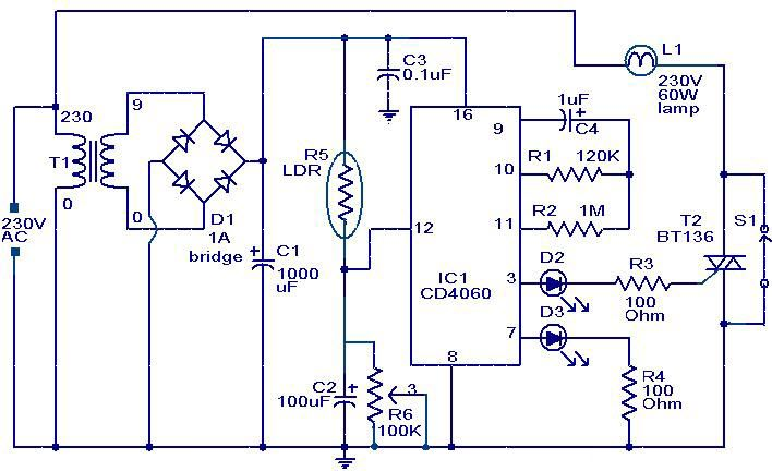Night security light diagram | Electrical Concepts | Pinterest ...