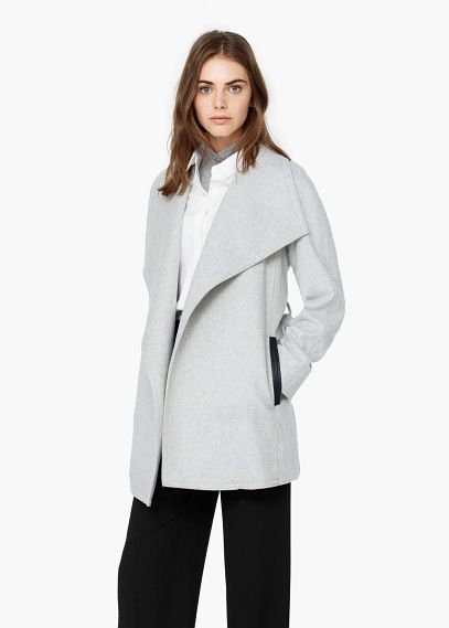 Laine Revers Manteau Fashion Pinterest Mango 4wddSqC