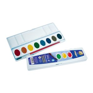 Prang Ovl 8 Pan Watercolor Prang Watercolors Watercolor High