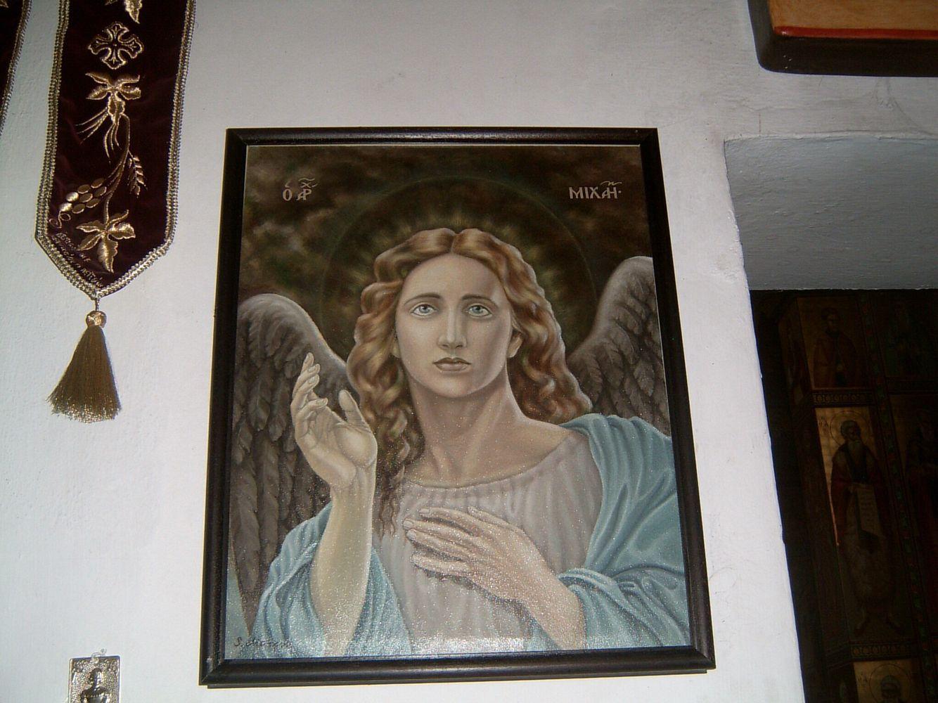 Редкое изображение Архангела Михаила #ангел #АрхангелМихаил