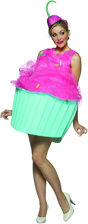 ee4746dea Desconocido Disfraz cupcake para mujer: Amazon.es: Juguetes y juegos ...