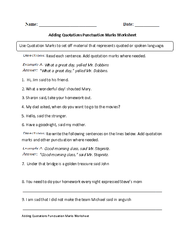 Comma Worksheets High School printable comma worksheets high – High School Punctuation Worksheets