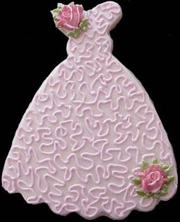 Beautiful Bridal: Wedding Dress Cookie Favors