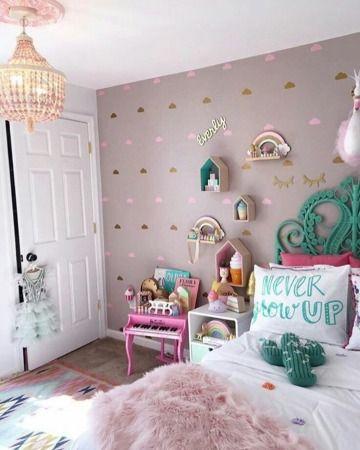 Tendencias en cuartos decorados para ni as 2019 for 6 cuartos decorados con estilo