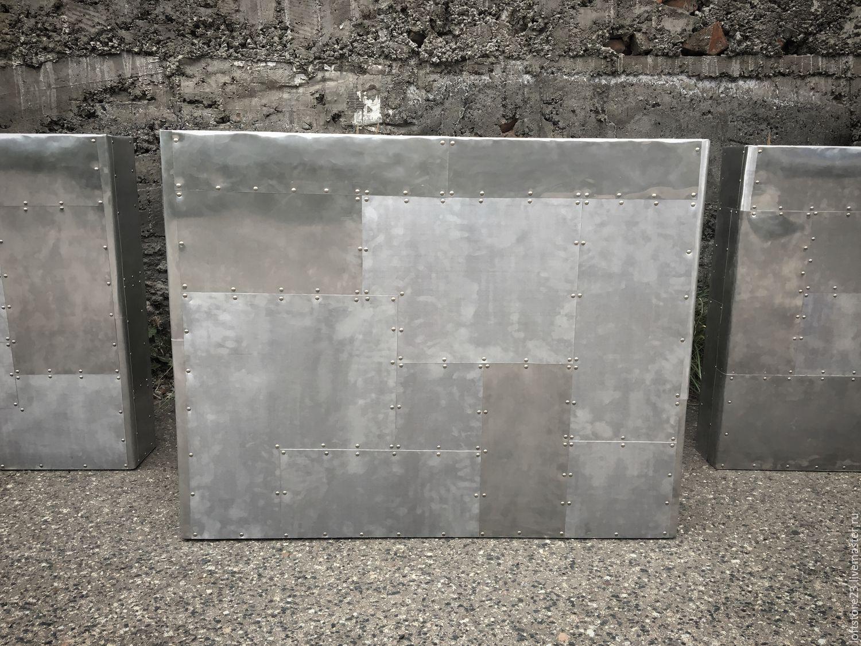 Купить Перегородка в помещение HEAVY METAL. - серебряный, перегородка, алюминий, мебель лофт, лофт