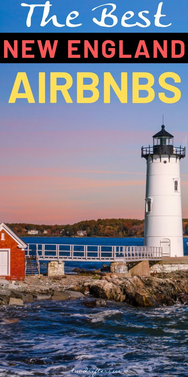 20+ Best AirBnbs in New England: Treehouses, Cabins, Castles, & More #travelengland
