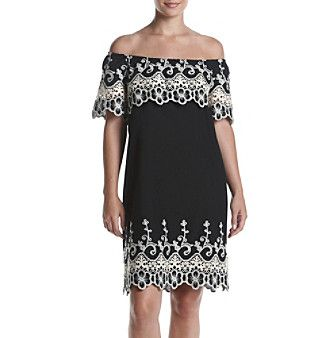 Fever™ Embroidered Dress