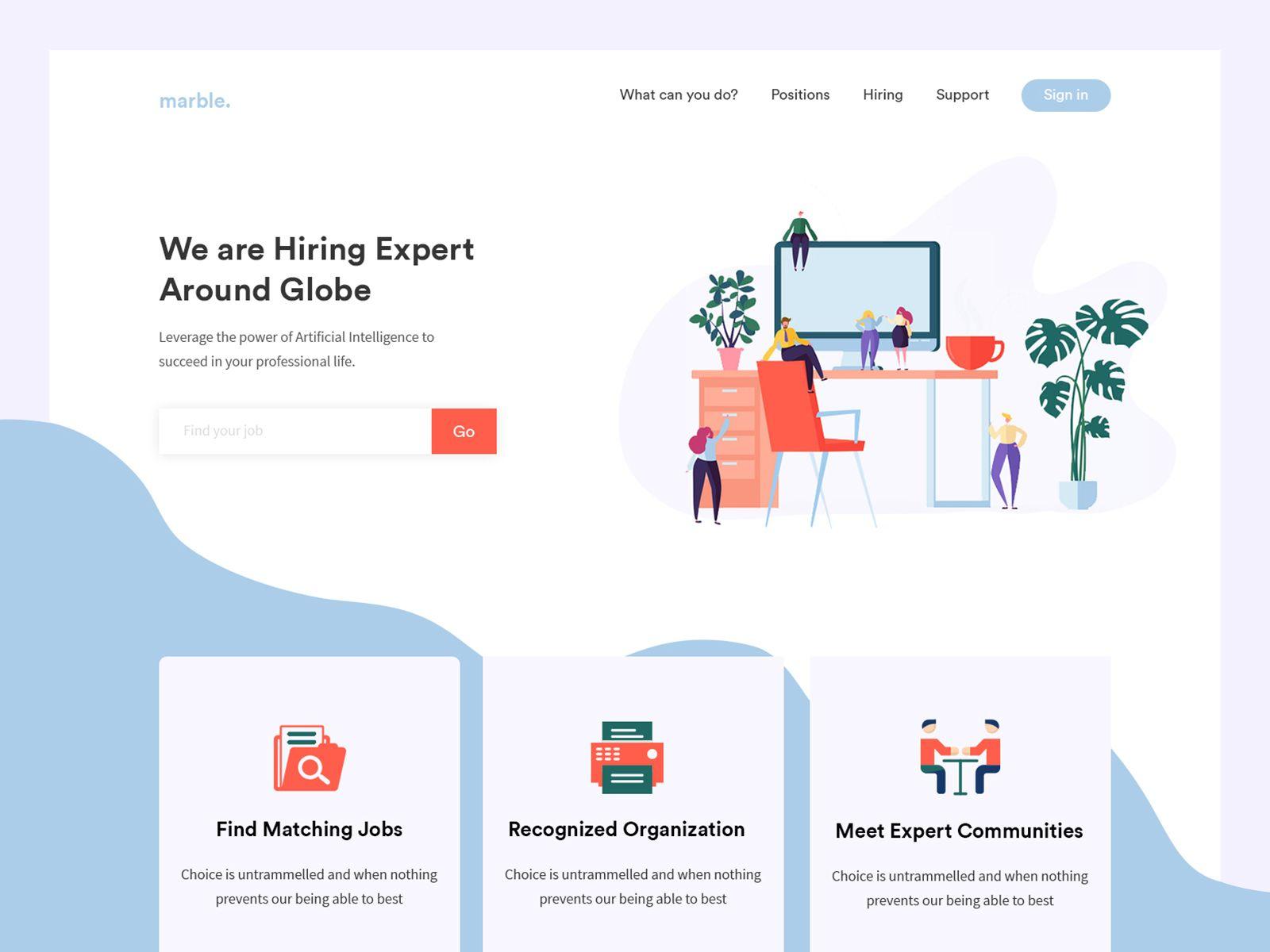 Recruitment Agency Landing Page Recruitment Website Design Recruitment Agencies Agency Website